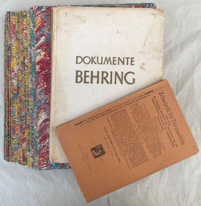 Group of 24 papers. Includes: BEHRING. ?Ueber ein Neues Diphtherieschutzmittel.?, BEHRING, Emil Adolf Von (1854-1917).
