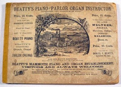 Beatty's Piano and Parlor Organ Instructor.  Containing the Elements of Music, Beatty, Daniel F.