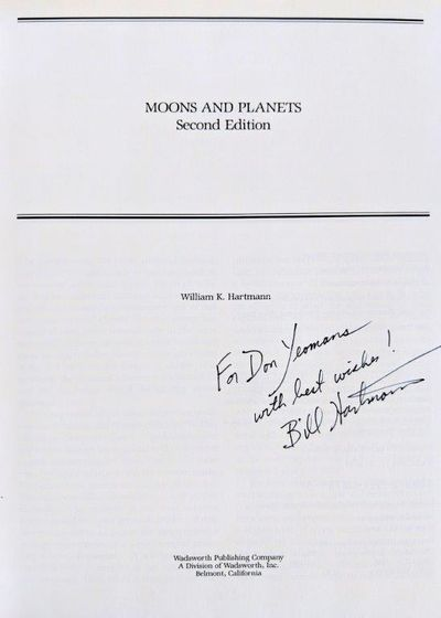 Image for Moons and Planets. Second edition.