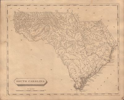 Image for Map of South Carolina From a New and Elegant General Atlas; Comprising all the New Discoveries, to the Present Time