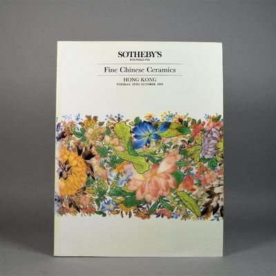 Image for Sotheby's Fine Chinese Ceramics. Hong Kong Tuesday, 29th October, 1991.