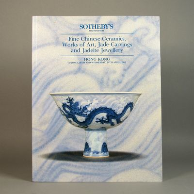Image for Sotheby's Fine Chinese Ceramics, Works of Art, Jade Carvings and Jadeite  Jewellery. Tuesday, 28th and Wednesday, 29th April 1992.