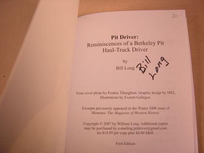 Pit Driver, Long, Bill