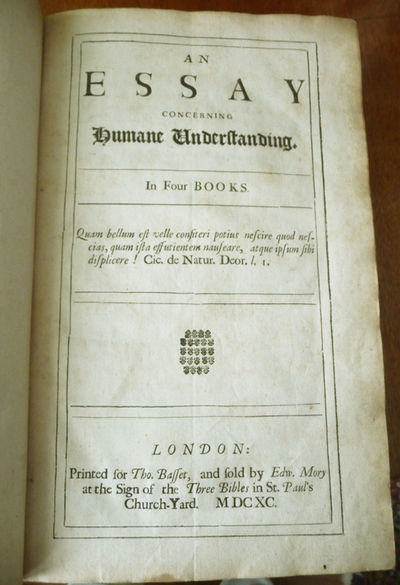 essay concerning human understanding locke summary Essay i john locke i: introduction chapter i: introduction 1 since it is the understanding that sets man above all other animals and enables him to use and dominate them, it is cer- tainly worth our while to enquire into it the understanding is like the eye in this respect: it makes us see and perceive all other things but.