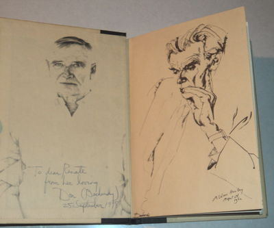 JACOB'S HANDS: A Fable., (Bachardy, Don). Huxley, Aldous; and Isherwood, Christopher.