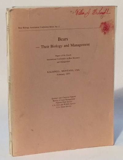 Bears--Their Biology and Management Vol. 3, Martinka, Clifford and Katherine McArthur (eds)
