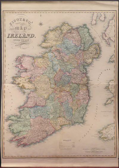 Image for Pigot and Co.'s New Map of Ireland Embracing Every Recent Alteration