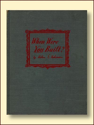 When Were You Built?