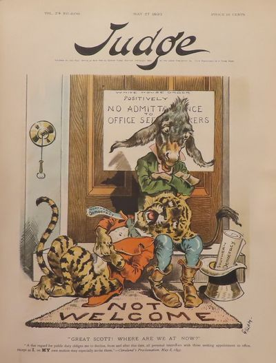 Image for Judge Magazine,, January 7, 1893 - July 1, 1893