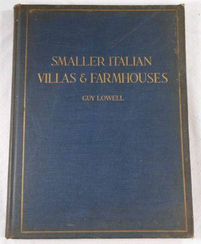 Smaller Italian Villas and Farmhouses, Lowell, Guy
