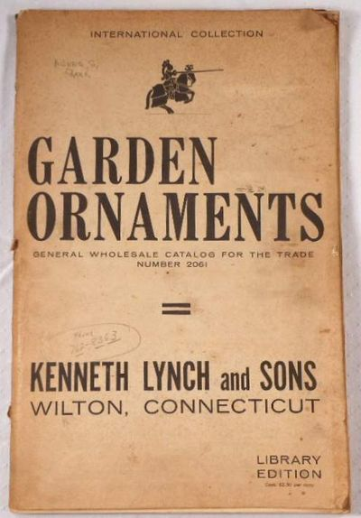 Garden Ornaments. General Wholesale Catalog for the Trade Number 2061. International Collection, Kenneth Lynch and Sons