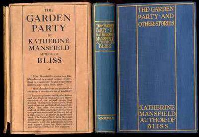 Ll vialibri the garden party mansfield katherine 1922 159202 for The garden party katherine mansfield