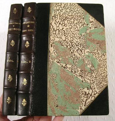 Chez Nous.  Travaux et Jeux Rustiques - Premiere et Deuxieme Serie - Two Volumes, De Pesquidoux, Joseph