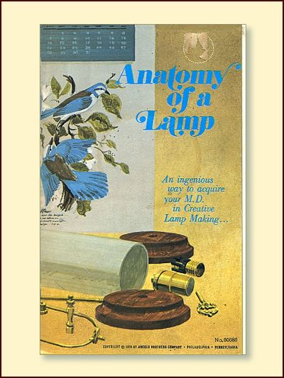 Anatomy of a Lamp No. 00080, Angelo, Stanley Jr.