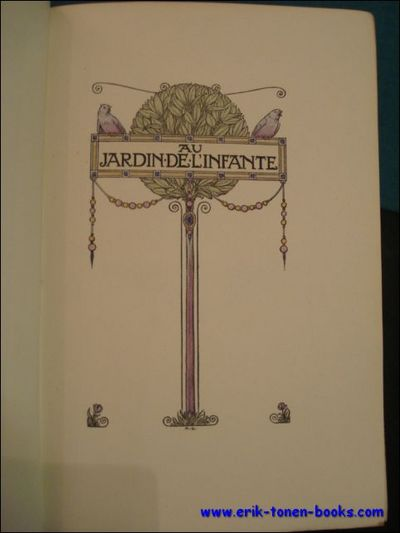 Vialibri 379050 rare books from 1920 for Au jardin de l infante albert samain