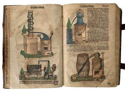 Das New gross Distillier Büch Wolgegrundter Kunstlicher Distillarion . . . ; Mit ordentlichen vnd vollkommenen Registern.