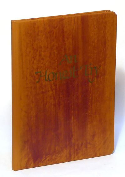 An Honest Try [limited edition in slipcase], Scriver, Bob
