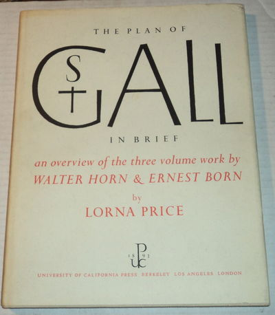 THE PLAN OF ST GALL IN BRIEF., Price, Lorna.