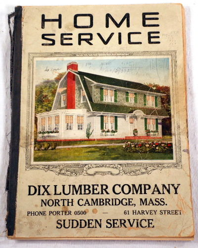 Home Service. Dix Lumber Company Sudden Service. [Catalog of Home Architectural Plans], Dix Lumber Company. Home Architectural Plans