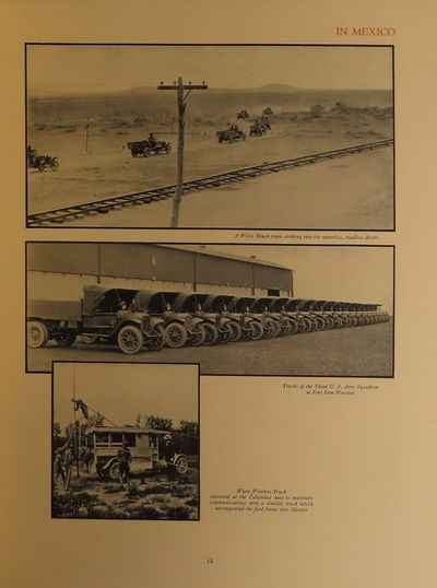 Image for The White Service Record, A Portrayal of the Military Performance of White Trucks in the Service of the United States and the Allied Nations