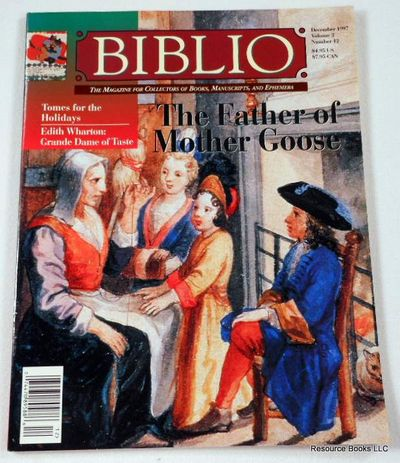 Biblio Magazine - December 1997.  Volume 2, Number 12, Biblio Magazine