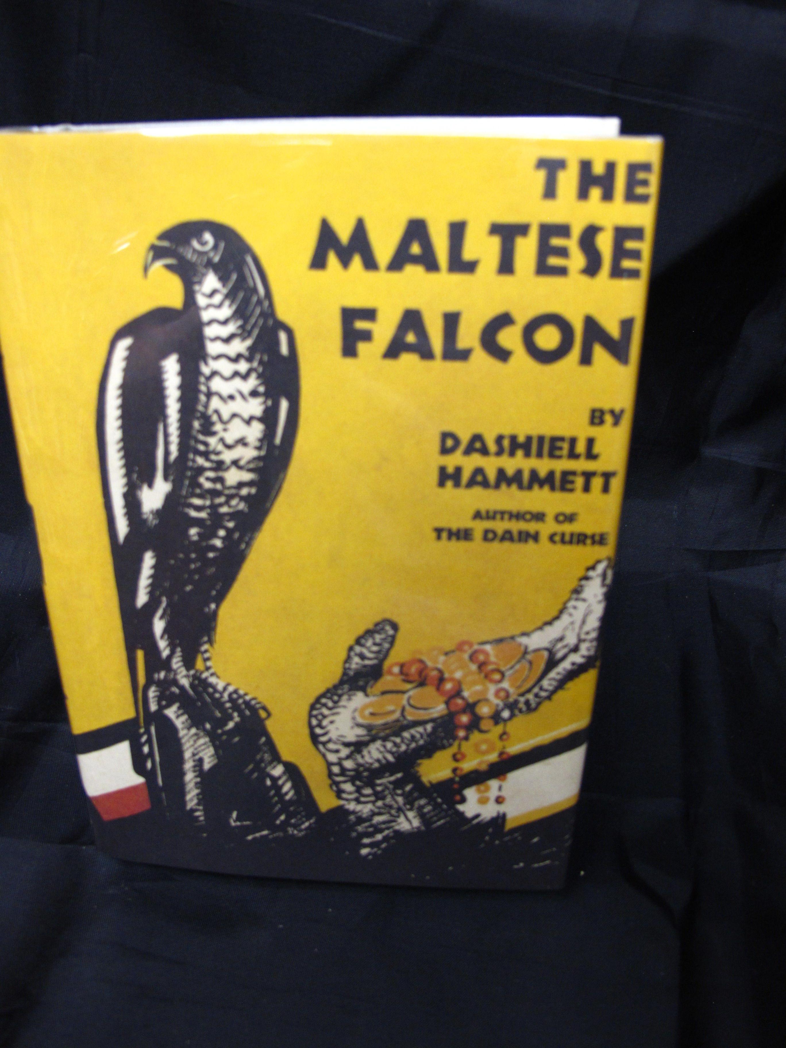 An analysis of the maltese falcon a novel by dashiell hammett