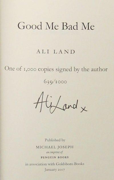 Good Me, Bad Me (Signed), Land, Ali