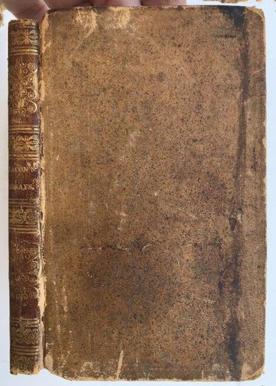 Essays, Moral, Economical, and Political., BACON, Sir Francis (1561-1626).