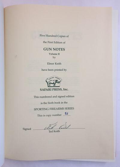 Gun Notes, Volumes I & II, Keith, Elmer