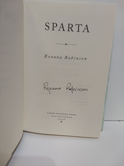 Image for Sparta: A Novel (SIGNED)
