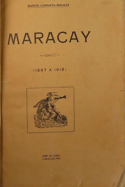 Image for Maracay (1697 a 1915)