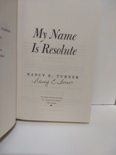 Image for My Name Is Resolute: A Novel  (SIGNED)
