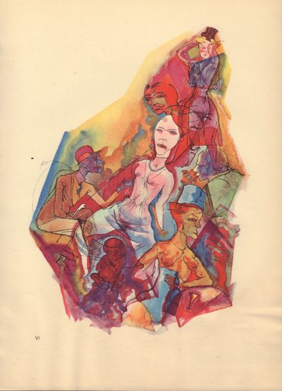 Image for Ecce Homo (Ausgabe C). Plate VI: Niederkunft.