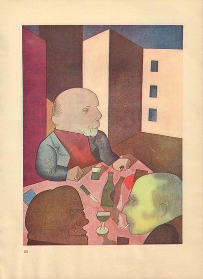 Image for Ecce Homo (Ausgabe C). Plate XII: Der Mensh ist gut.