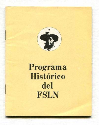 Programa Historico del FSLN, Fonseca, Carlos