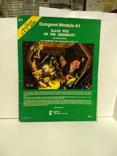 Image for Slave Pits Of The Undercity (advanced Dungeons and Dragons Module A1) (Dungeons & Dragons)