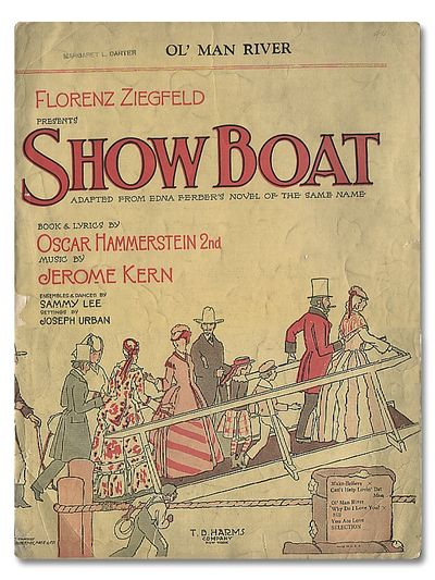 Showboat Vintage Sheet Music, Hammerstein, Oscar & Kern, Jerome