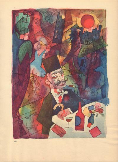 Image for Ecce Homo (Ausgabe C). Plate VIII: Der Madchenhandler.