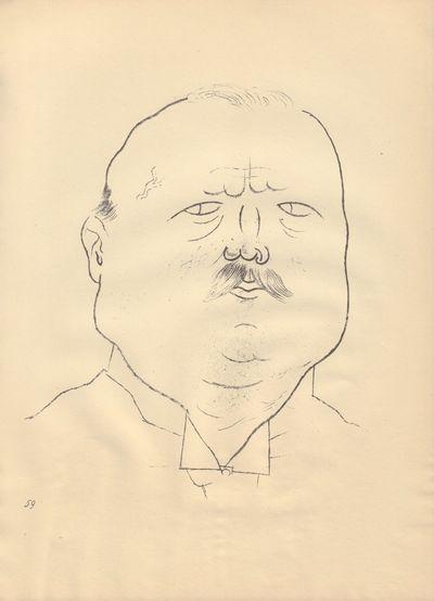 Image for Ecce Homo (Ausgabe C). Plate 59: Ehrenmann.