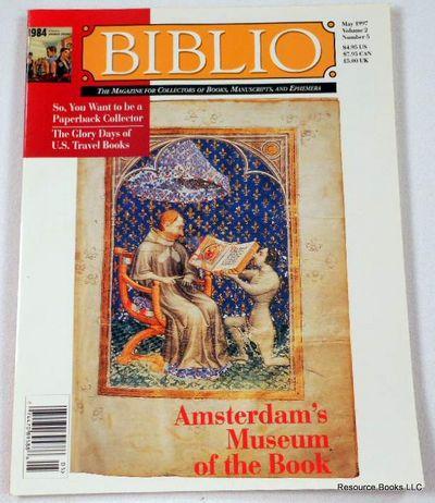 Biblio Magazine - May 1997.  Volume 2, Number 5, Biblio Magazine