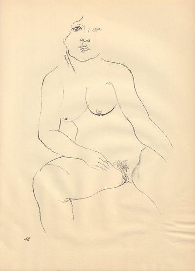 Image for Ecce Homo (Ausgabe C). Plate 38: Aenne.