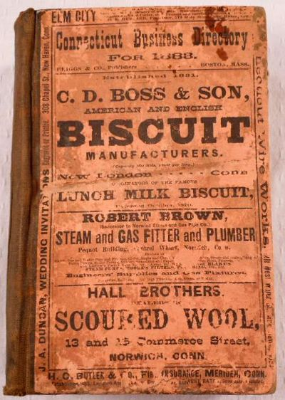 The Connecticut Business Directory for 1883. A Complete Index to the Mercantile, Manufacturing and Professional Interests of the State, Together with Much Valuable Miscellaneous Information, Briggs & Co., Publishers