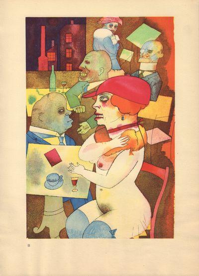 Image for Ecce Homo (Ausgabe C). Plate III: Schonheit, dich will ich preisen.
