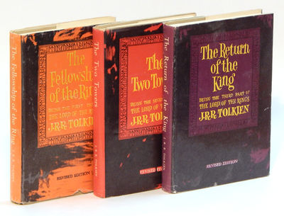 The Lord of the Rings: The Fellowship of the Ring, The Two Towers, The Return of the King, Tolkien, J.R.R.