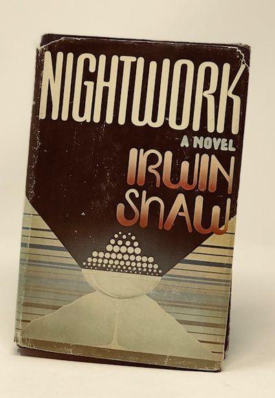 Nightwork; a Novel  ( Signed By Natalie Schafer), Shaw, Irwin