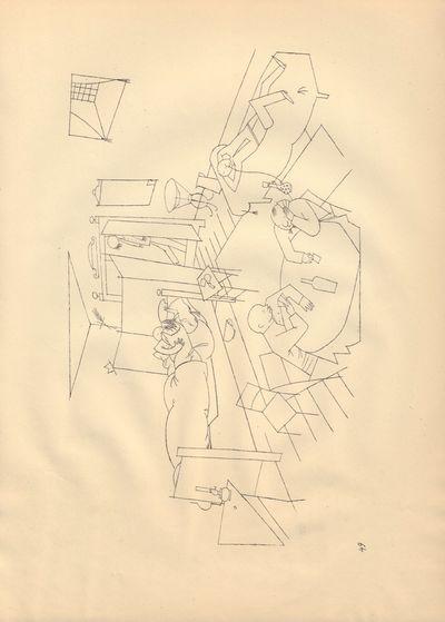 Image for Ecce Homo (Ausgabe C). Plate 49: Quergebaude vier Treppen.