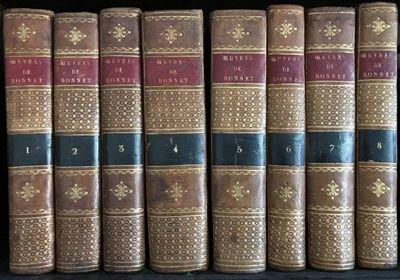 Oeuvres d'histoire naturelle et de philosophie...., BONNET, Charles (1720-1793).