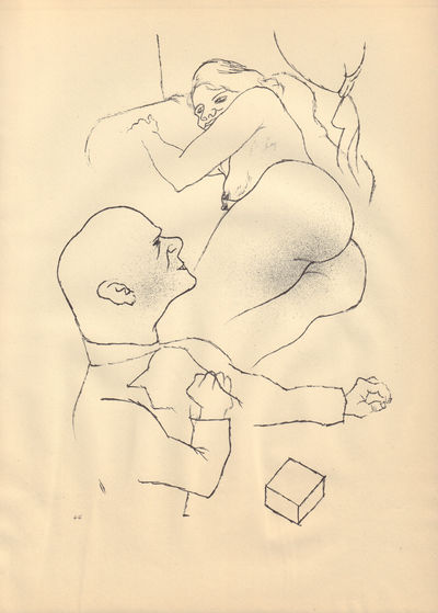 Image for Ecce Homo (Ausgabe C). Plate 44: Dr. S. und Frau.