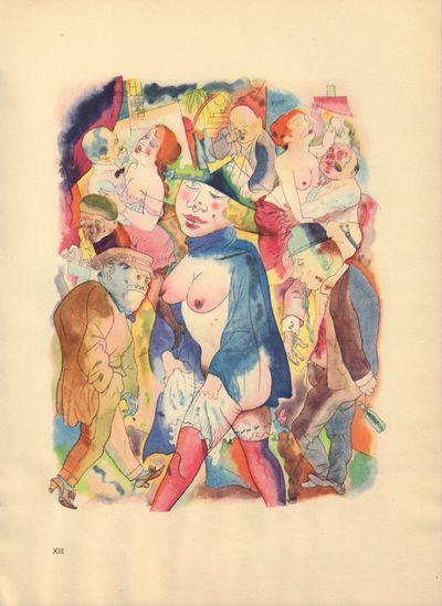 Image for Ecce Homo (Ausgabe C). Plate XIII: Walzertraum.