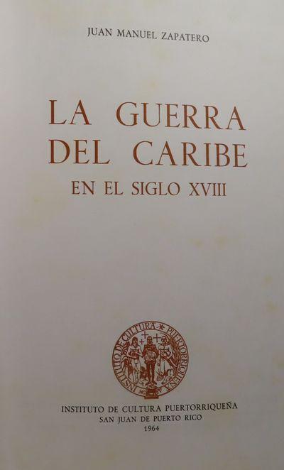 Image for La Guerra del Caribe en el Siglo XVIII